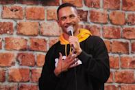 <p>Damon Wayans Jr. performed a comedy set at The Stress Factory Comedy Club in New Brunswick, New Jersey.</p>