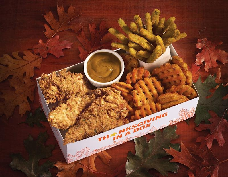 Hardee's Puts a Fast Food Thanksgiving in a Box