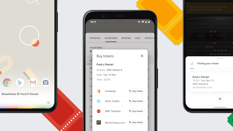 The Google Assistant can now book cinema tickets for you