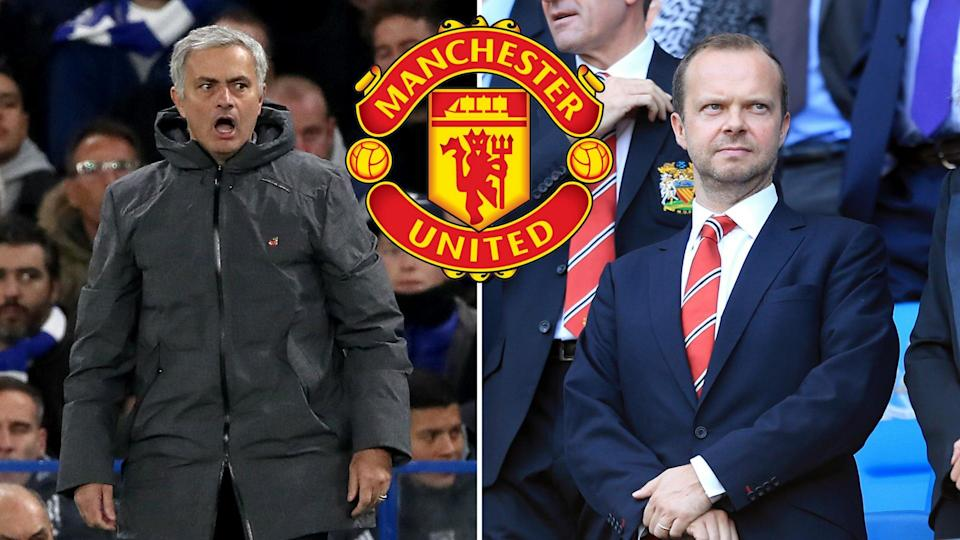 It's good to talk: Jose Mourinho and Ed Woodward must address PSG speculation
