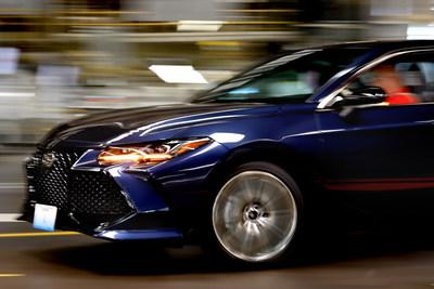 The Fifth Generation Avalon Races Off The Assembly Line At Toyota Motor  Manufacturing, Kentucky In