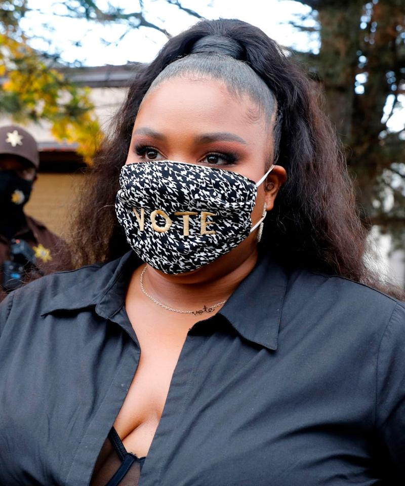 The Political Message Behind Lizzo's Fire New Hairstyle