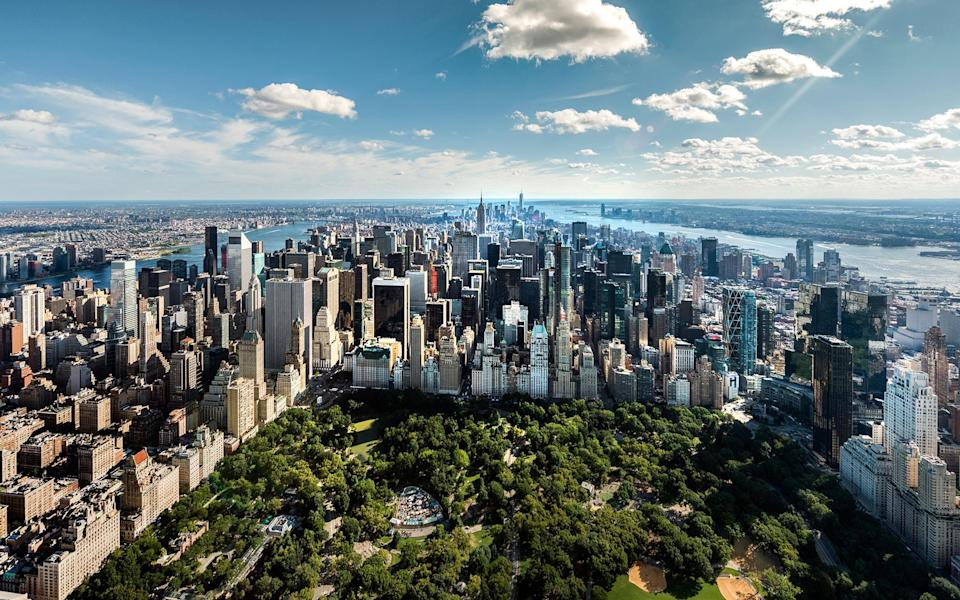 New York is truly one of the world's greatest urban playgrounds - Howard Kingsnorth