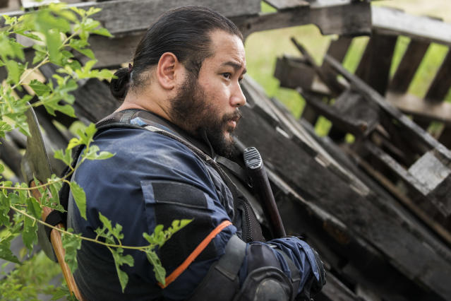 <p>Cooper Andrews as Jerry in AMC's <i>The Walking Dead</i>.<br>(Photo: Gene Page/AMC) </p>