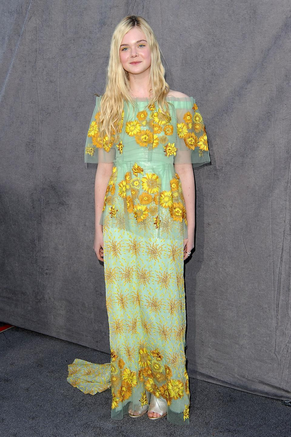 Fanning at the 17th Annual Critics' Choice Movie Awards at The Hollywood Palladium in Los Angeles.