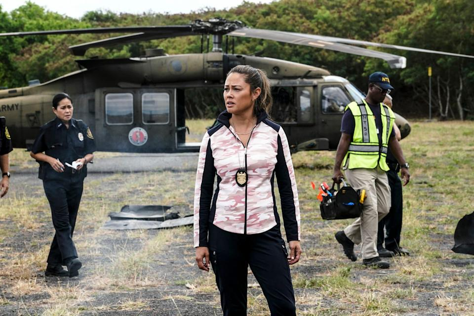 """Vanessa Lachey as Special Agent in Charge Jane Tennant in the new spinoff """"NCIS: Hawaii."""""""