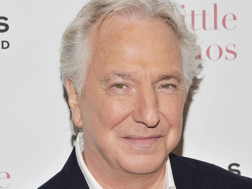 Alan Rickman died in 2016 (Rex)