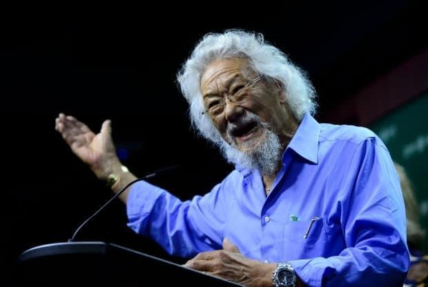 Online scam artists are using the image of environmentalist David Suzuki to promote CBD products that have nothing to do with the foundation named for him. (Sean Kilpatrick/The Canadian Press - image credit)