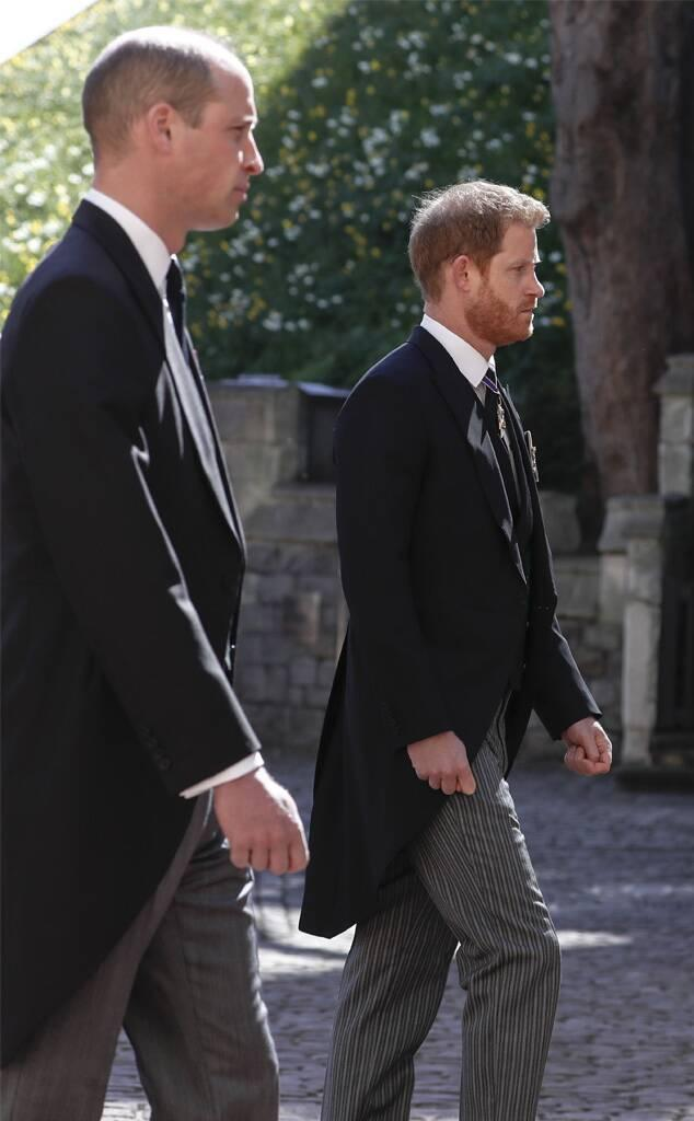Prince Philip Funeral, Prince William, Prince Harry