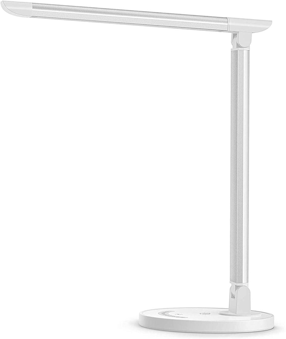 <p>Let there be light with this minimal yet powerful <span>TaoTronics LED Desk Lamp</span> ($40).</p>