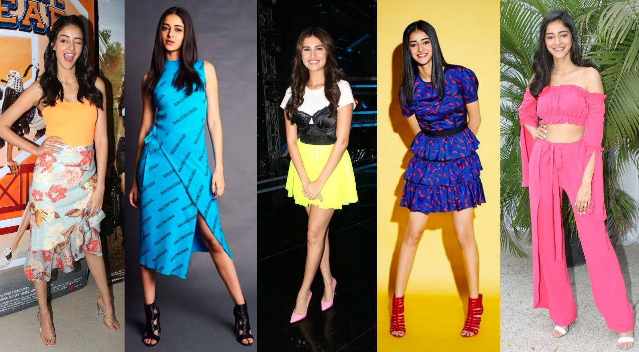 <p>Talking about colour, Ananya and Tara have embrased the colourful side of fashion and have showed how to have fun with it. We spotted the duo in happy hues like bright yellow, citrus orange, electric blue and pop pink. </p>