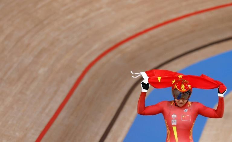 China won the first track cycling gold