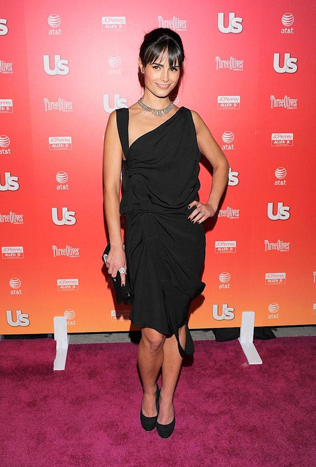 """Fast and Furious"" star Jordana Brewster has such a fantastic figure, we're curious why she picked this shapeless gown. Todd Williamson/<a href=""http://www.wireimage.com"" target=""new"">WireImage.com</a> - April 22, 2009"