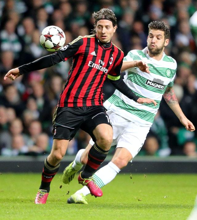 Celtic and AC Milan are set for another meeting, after clashing in the 2013-14 Champions League group stage