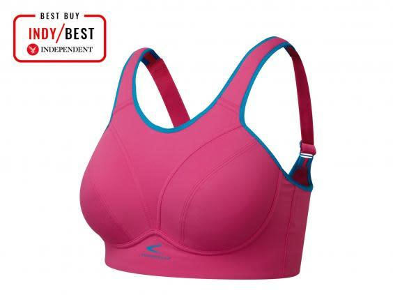 Stay supported and secure with this well-fitted sports bra (The Independent)