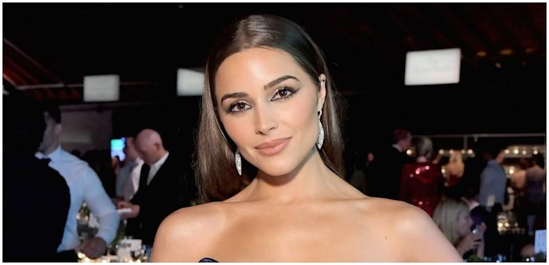Olivia Culpo Poses At The 2018 Baby2Baby Gala Presented By Paul Mitchell 3LABS