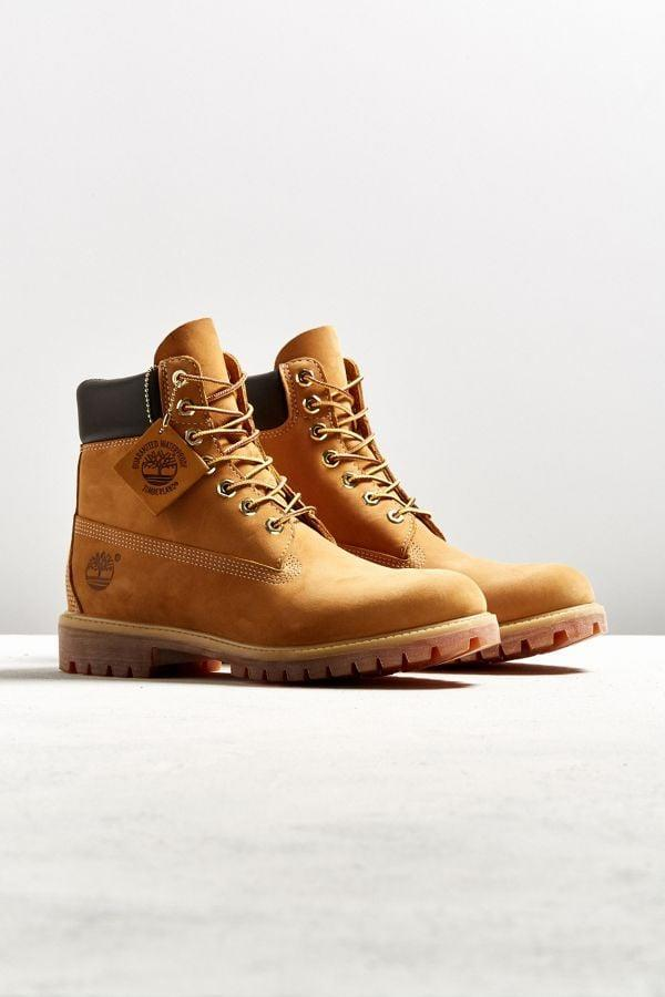 <p>The <span>Timberland Classic Work Boot</span> ($198) is basically boyfriend uniform, and for good reason; they're so cool and practical.</p>