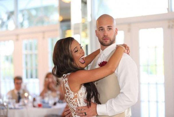PHOTO: A wedding crasher interrupted this bride and groom's wedding. (VR Vision Photography )