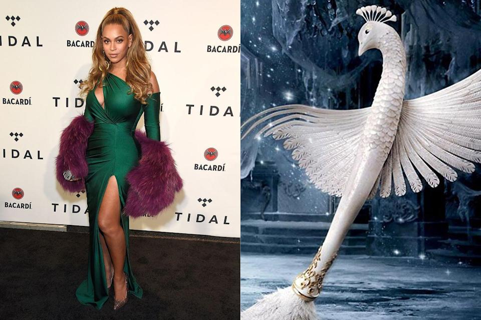 """<p>Director Bill Condon wanted Ms. Knowles-Carter for the live-action remake of the Disney classic, but not to play Belle, as one might expect. """"I tried to get her into <em>Beauty and the Beast</em>, but it wasn't a big enough part,"""" he <a href=""""https://www.yahoo.com/entertainment/bill-condon-reveals-wanted-beyonce-beauty-beast-plus-inside-secrets-dreamgirls-204307918.html"""" data-ylk=""""slk:told Yahoo! Entertainment;outcm:mb_qualified_link;_E:mb_qualified_link;ct:story;"""" class=""""link rapid-noclick-resp yahoo-link"""">told Yahoo! Entertainment</a>. """"She would have been a good feather duster."""" Mon Dieu! It's no surprise that she turned down the small role of Plumette, which went to Gugu Mbatha-Raw.</p>"""