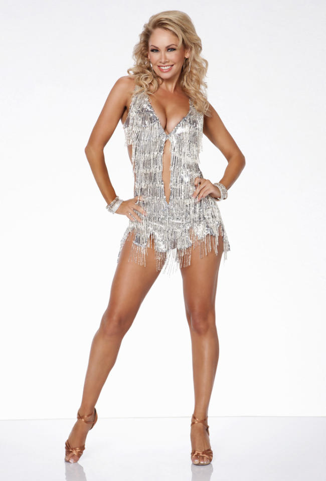 """Kym Johnson partners with Joey Fatone this fall on ABC's """"Dancing With the Stars: All-Stars,"""" premiering September 24."""