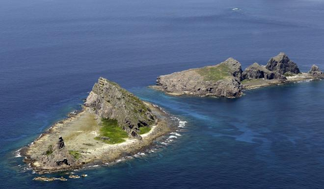 The Diaoyu/Senkaku Islands in the East China Sea are claimed by Japan, mainland China and Taiwan. Photo: Kyodo