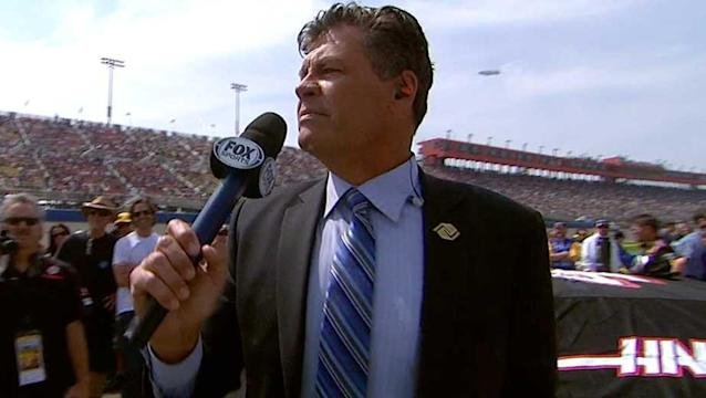 Did Michael Waltrip think he was talking to Donna Summer on pit road at Auto Club?