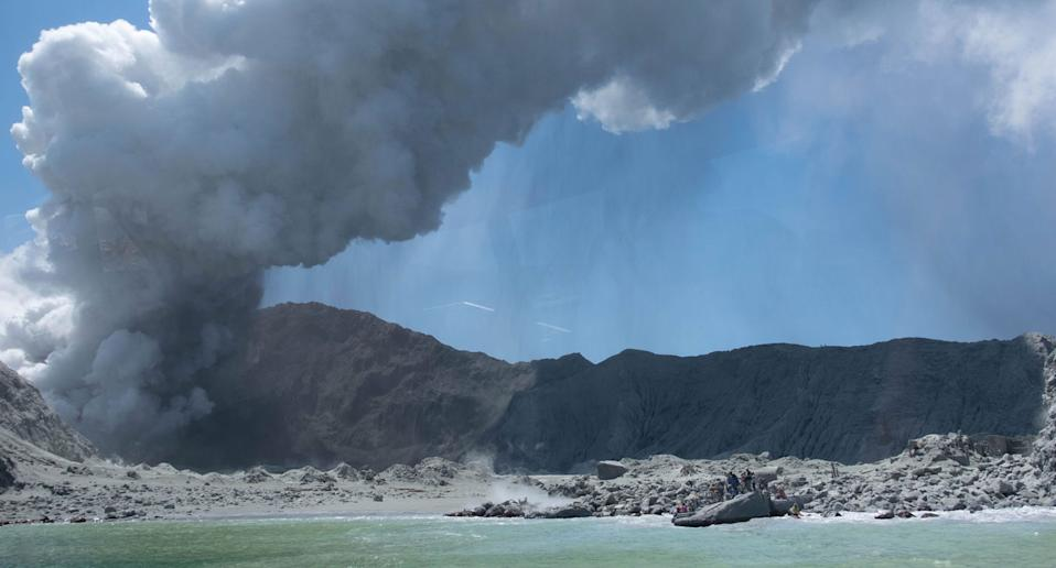 Aussies feared Fears three Aussies could be among five killed in volcano eruption