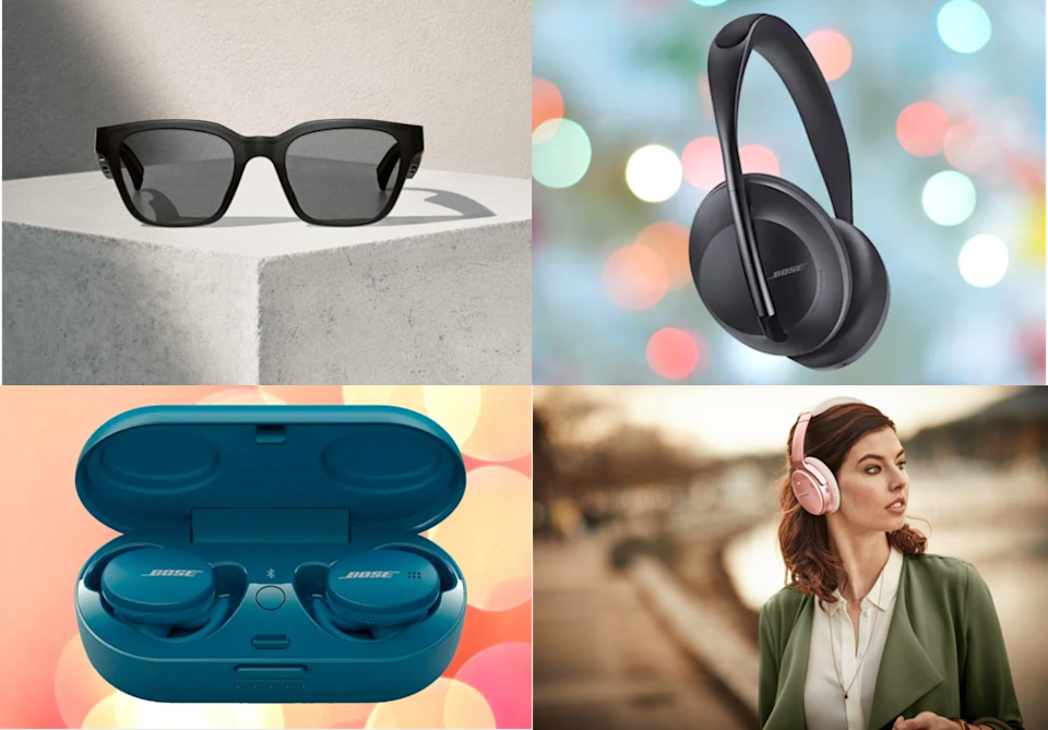 Got sound? Bose does — in all shapes and sizes. (Photo: Bose)