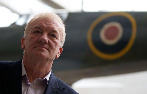 Project leader David Cundall says more than 36 Spitfire planes may be buried at the site