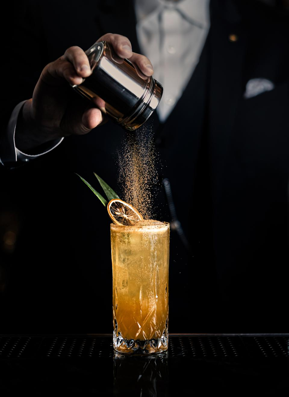 經典系列的Fish House Punch ($130)。