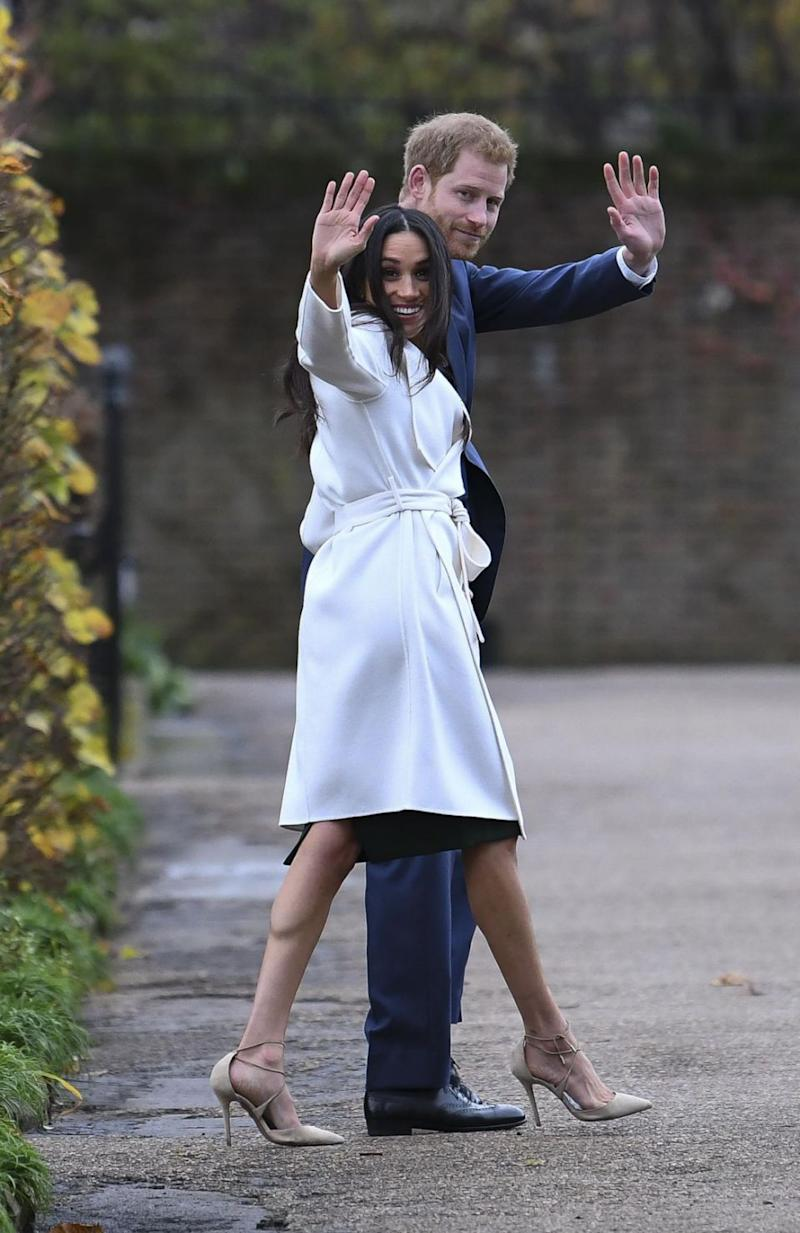 Prince Harry and Meghan Markle engagement photoshoot