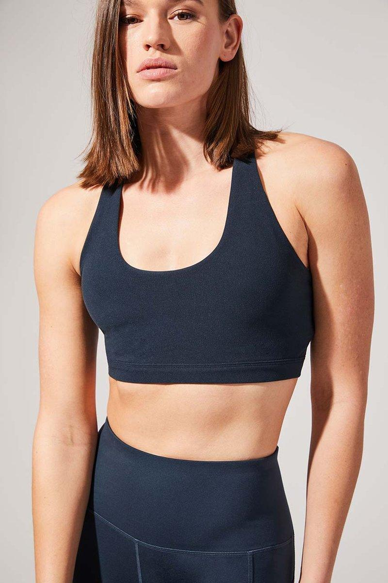 Exert Recycled Polyester Medium Support Bra. Image via MPG Sport.