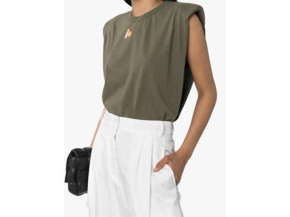 Tuck this modern tee into jeans and shorts (Browns)