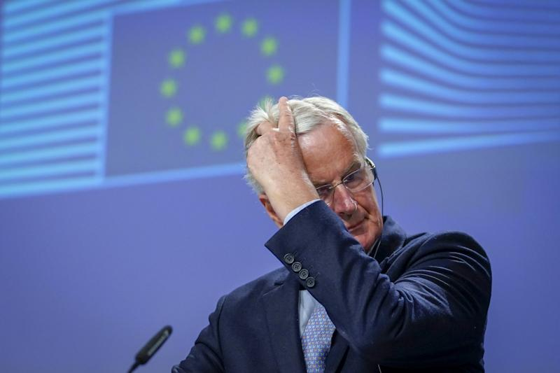 EU chief negotiator Michel Barnier warned there hadn't been any progress: Getty Images