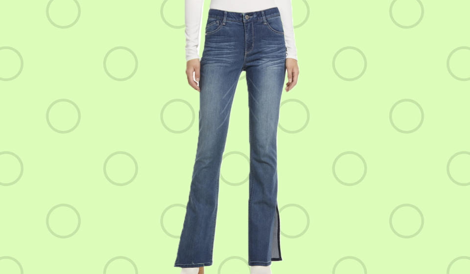 There's nothing basic about these blue jeans. (Photo: Nordstrom)