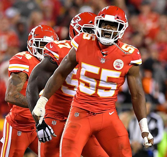 "<a class=""link rapid-noclick-resp"" href=""/nfl/players/27551/"" data-ylk=""slk:Dee Ford"">Dee Ford</a> on getting traded from Kansas City to San Francisco and landing a big contract: ""For so long, I've been fighting that narrative that I'm not that good, that I didn't qualify as [a good draft pick]."" (Getty Images)"