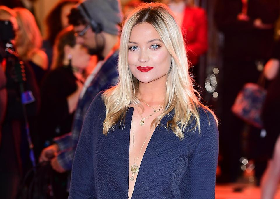 Laura Whitmore attending the ITV Gala held at the London Palladium. in 2017. (PA)