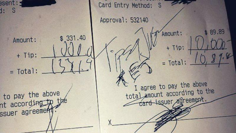 'Tips for Jesus' Tipper Leaves $11,000 in 2 Tips at Arizona Restaurant