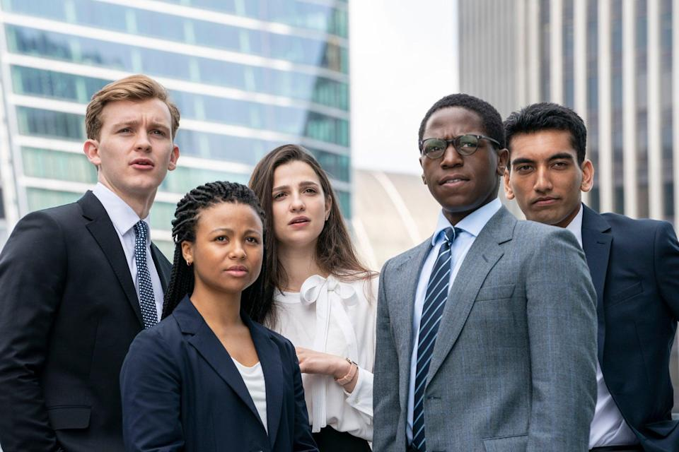 The series follows a group of youngsters chasing a City career (BBC/Bad Wolf Productions/Amanda Searle)