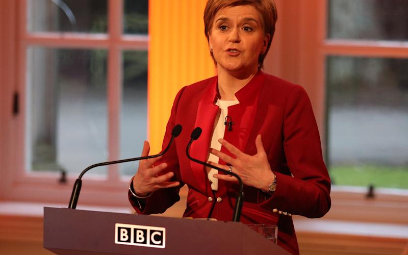 Nicola Sturgeon has previously said there should only be a second independence referendum when people want one - Credit: PA