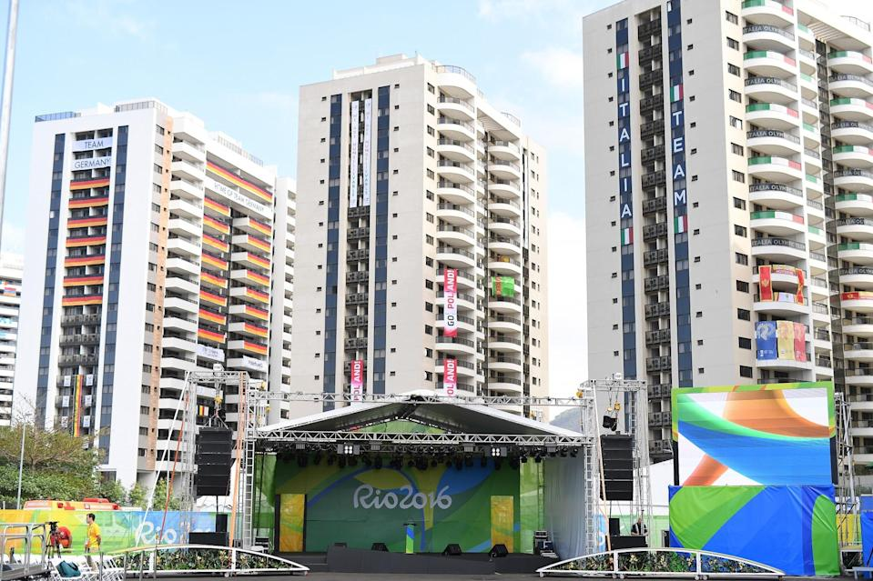 Australian athletes had items stolen Friday morning (Getty Images)