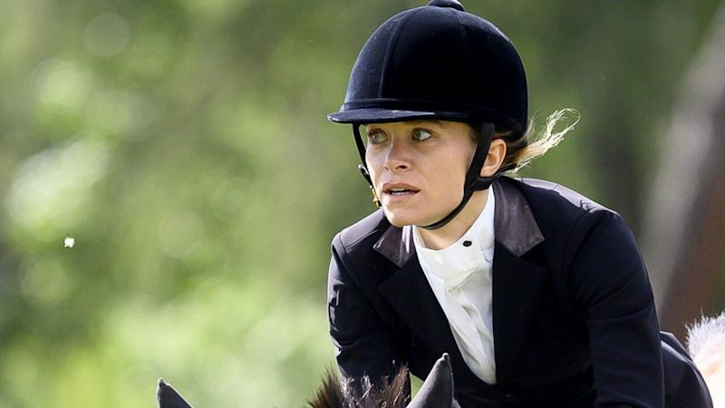 Mary-Kate Olsen Shows Off Her Equestrian Skills at Horseback Riding Competition in Madrid