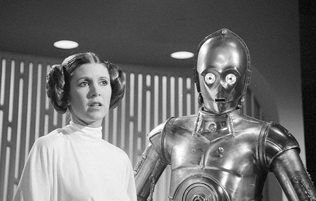 Carrie's princess Leia is an integral part of the Star Wars franchise. Photo: Getty
