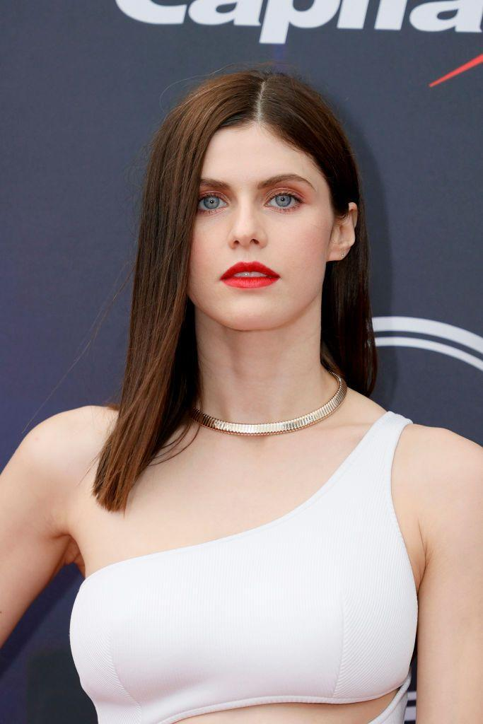 <p>Her breakthrough came as Annabeth Chase in the Percy Jackson film series, before she landed roles in Texas Chainsaw 3D, Baywatch, True Detective and San Andreas. </p>