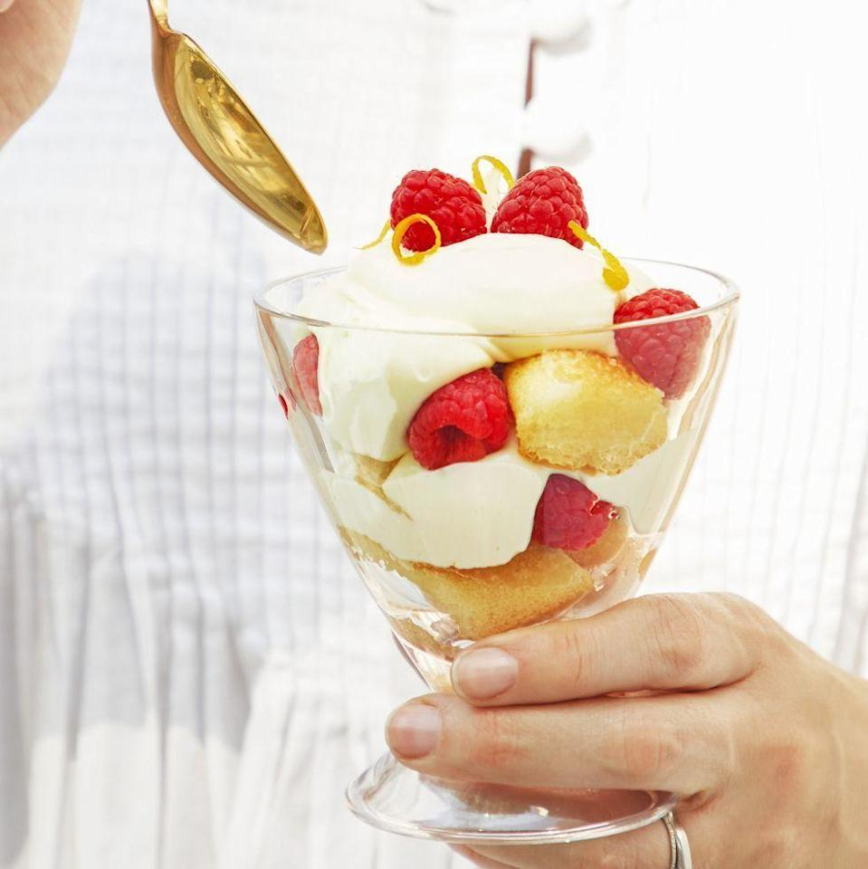 """<p>These creamy cloud-like parfaits are the perfect ending to a summer dinner. <a href=""""https://www.goodhousekeeping.com/food-recipes/dessert/a22577243/lemon-mascarpone-parfaits-recipe/"""" rel=""""nofollow noopener"""" target=""""_blank"""" data-ylk=""""slk:"""" class=""""link rapid-noclick-resp""""><br></a></p><p><em><a href=""""https://www.goodhousekeeping.com/food-recipes/dessert/a22577243/lemon-mascarpone-parfaits-recipe/"""" rel=""""nofollow noopener"""" target=""""_blank"""" data-ylk=""""slk:Get the recipe for Lemon Mascarpone Parfaits »"""" class=""""link rapid-noclick-resp"""">Get the recipe for Lemon Mascarpone Parfaits »</a></em></p>"""