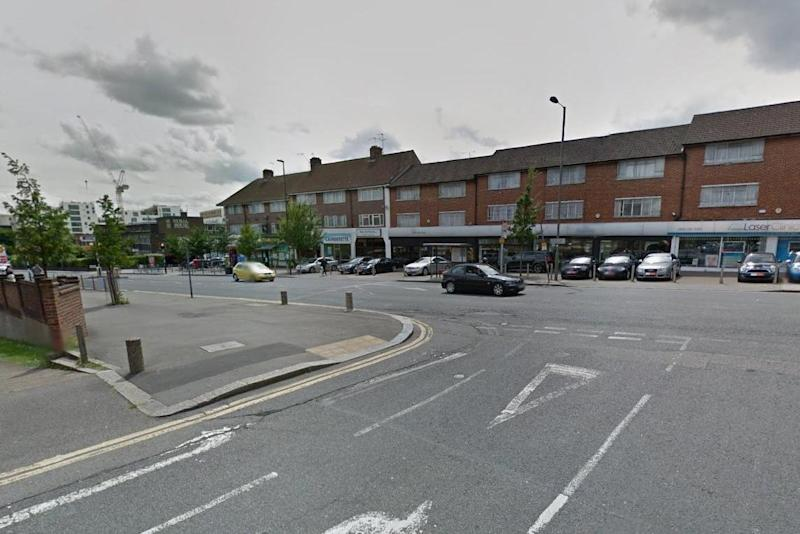 Burnt Oak: The boy died after being hit by a car: Google Street View