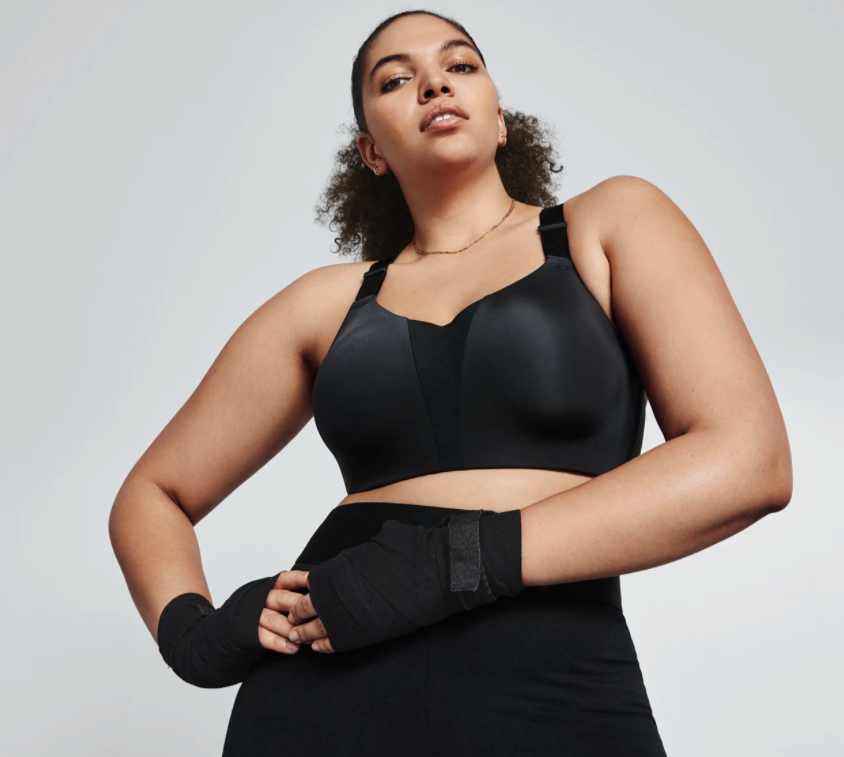 """<p><strong>nike</strong></p><p>nike.com</p><p><strong>$48.97</strong></p><p><a href=""""https://go.redirectingat.com?id=74968X1596630&url=https%3A%2F%2Fwww.nike.com%2Ft%2Fdri-fit-rival-womens-high-support-sports-bra-plus-size-SPHQGV&sref=https%3A%2F%2Fwww.prevention.com%2Ffitness%2Fworkout-clothes-gear%2Fg22117349%2Fbest-sports-bras-for-large-breasts%2F"""" rel=""""nofollow noopener"""" target=""""_blank"""" data-ylk=""""slk:Shop Now"""" class=""""link rapid-noclick-resp"""">Shop Now</a></p><p><strong>Sizes</strong>: 40C to 44G </p><p>Built for high-support, this sports bra features molded cups with a compression fit and an underwire that feels ultra-secure. The adjustable straps and racerback design keep your back supported and your body free to move. One reviewer wrote, """"Amazing. It fits perfect. I'm 38DDD, and I never can find a good bra for me.""""</p>"""