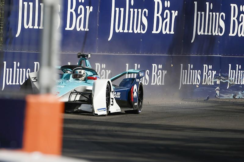 Rowland on top in disrupted Santiago practice