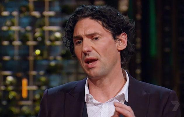 Colin's particular brand of Irish charm is, er, light on the charm. Source: Channel Seven