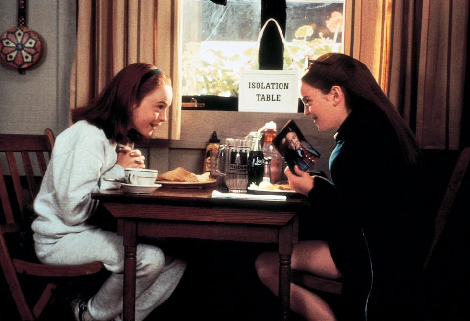 "<p>Lindsay Lohan absolutely shines in <em>The Parent Trap</em> as both Annie and Hallie, twins who discover they were separated at birth and plot to get their divorced parents back together. It may have been her film debut, but she's just as charming as A-list stars Dennis Quaid and Natasha Richardson.</p> <p><em>Available to buy on</em> <a href=""https://www.amazon.com/Parent-Trap-Dennis-Quaid/dp/B006JV6F1C/"" rel=""nofollow noopener"" target=""_blank"" data-ylk=""slk:Amazon Prime Video"" class=""link rapid-noclick-resp""><em>Amazon Prime Video</em></a><em>.</em></p>"
